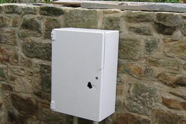 zainstalowana pompa ciepła